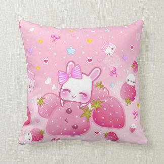 Cute Bunny Pillow : Cute Bunny Pillows - Decorative & Throw Pillows Zazzle