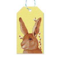 Cute Bunny and Pussy Willow Gift Tags