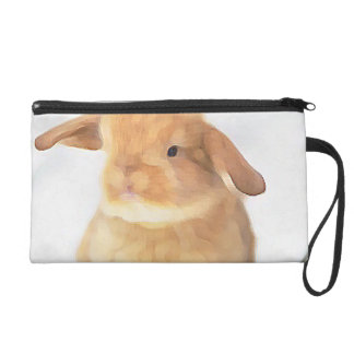 Cute Bunny Wristlet Clutches