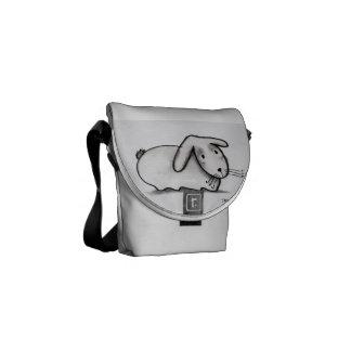Cute Bunny Bag Commuter Bag