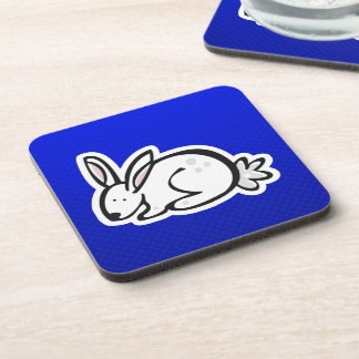 Cute Bunny; Blue Coaster