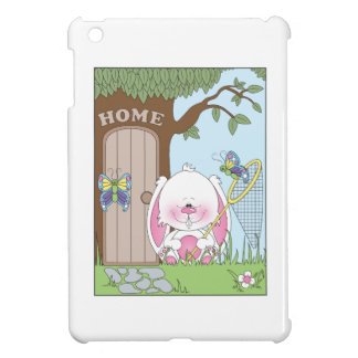 Cute Bunny Cartoon Case For The iPad Mini