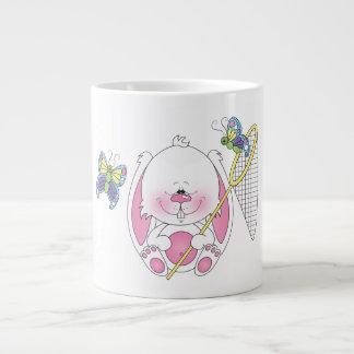 Cute Bunny Cartoon Giant Coffee Mug