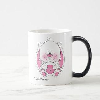 Cute Bunny Cartoon Magic Mug