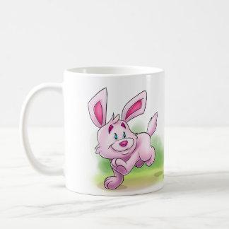 cute bunny cartoon mug