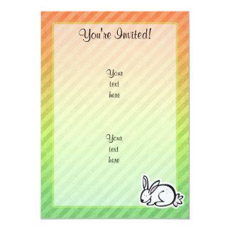 Cute Bunny; Colorful Card
