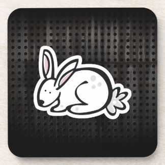 Cute Bunny; Cool Drink Coaster