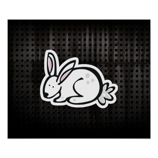 Cute Bunny; Cool Poster