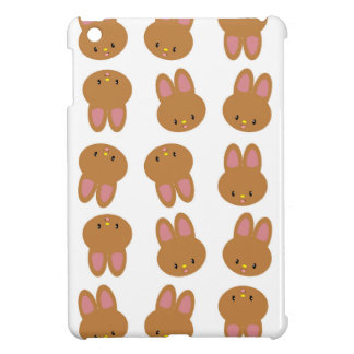 CUTE BUNNY FACE iPad MINI CASE