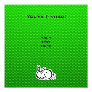 Cute Bunny; Green Card