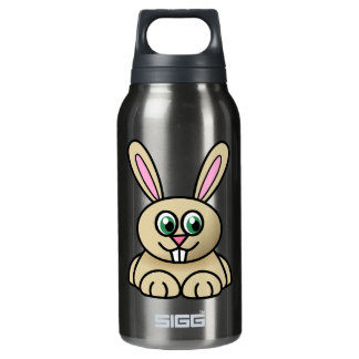 Cute Bunny Insulated Water Bottle