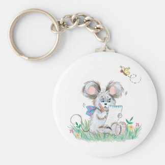 Cute Bunny Keychain
