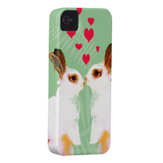 Cute bunny love iphone covers
