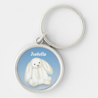 "Cute Bunny ""Name This!"" - Keychain"