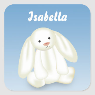 """Cute Bunny """"Name This!"""" - Sticker"""