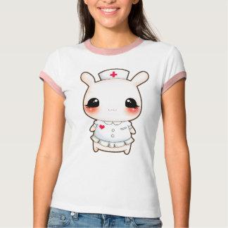 Cute bunny nurse t-shirt