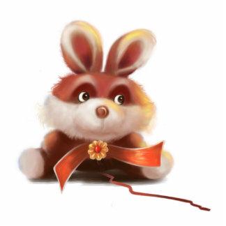 cute bunny Photo Sculpture