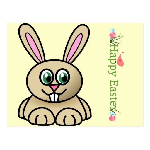 Cute Bunny Post Cards