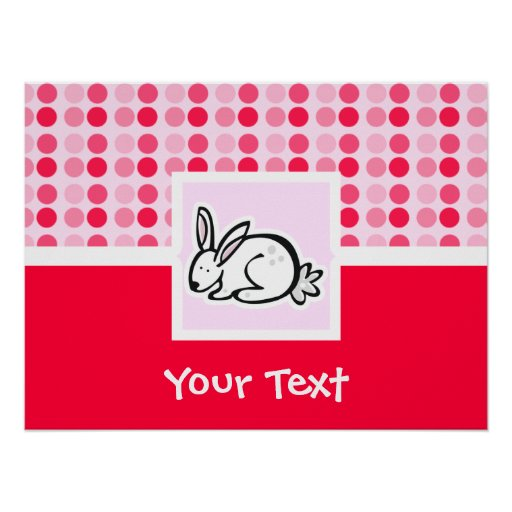 Cute Bunny Posters