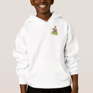 Cute Bunny Rabbit, Animal Nature Hoodie