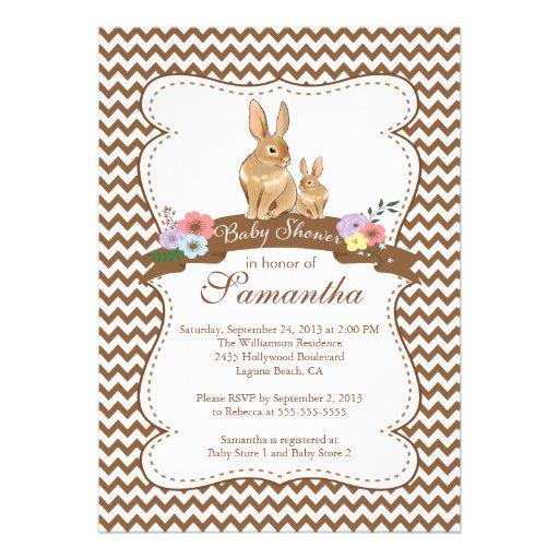 1 000 bunny baby invitations bunny baby announcements invites