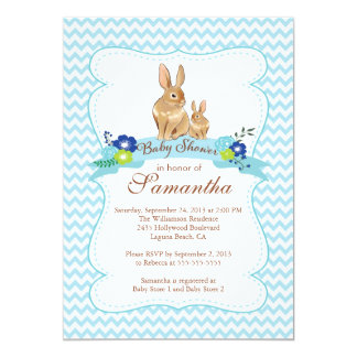 bunny baby shower invitations  announcements  zazzle, Baby shower invitations