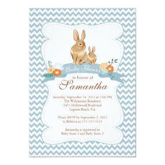 bunny baby shower invitations announcements zazzle