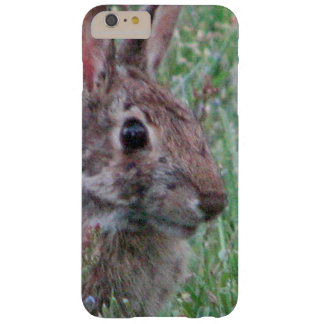 Cute Bunny Rabbit In Wildflowers Animal Lover Barely There iPhone 6 Plus Case