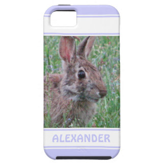 Cute Bunny Rabbit In Wildflowers Animal Lover iPhone 5/5S Cases