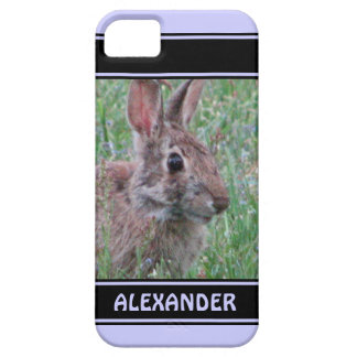 Cute Bunny Rabbit In Wildflowers Animal Lover iPhone 5 Cases