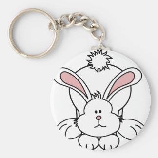 Cute Bunny Rabbit Keychain