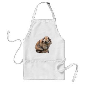 Cute bunny rabbit lop-eared apron, gift idea