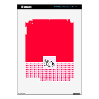 Cute Bunny Decal For iPad 3
