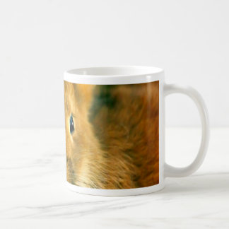 Cute Bunny waiting for mon and love Classic White Coffee Mug