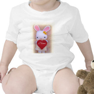 Cute Bunny with Heart Infant Creeper