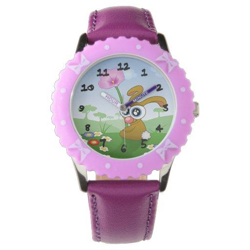 Cute Bunny Wrist Watch