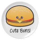 Cute Buns Dinner Plate