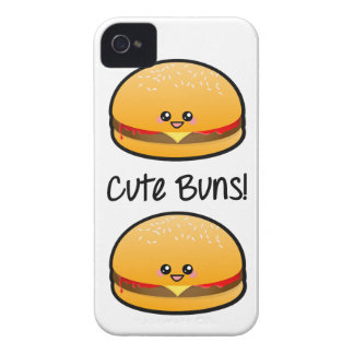 Cute Buns iPhone 4 Cover
