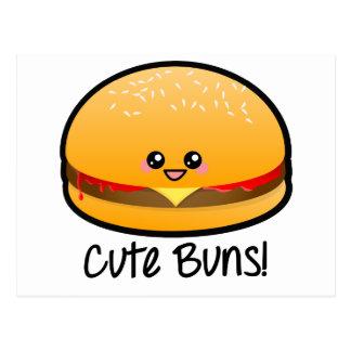 Cute Buns Postcard