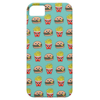 Cute Burger and Fries iPhone cover