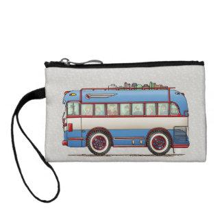 Cute Bus Tour Bus Coin Wallet