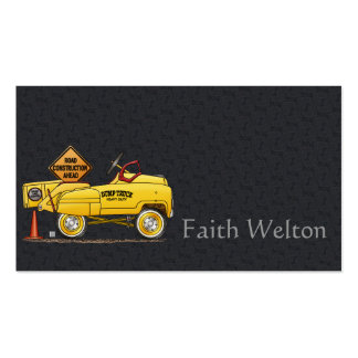 Cute Bus Tour Bus Double-Sided Standard Business Cards (Pack Of 100)