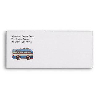 Cute Bus Tour Bus Envelopes