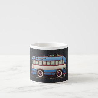 Cute Bus Tour Bus Espresso Cup
