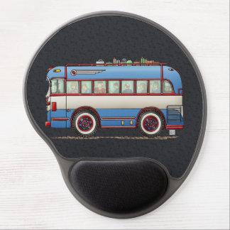 Cute Bus Tour Bus Gel Mouse Pad