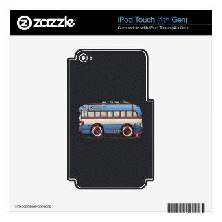 Cute Bus Tour Bus iPod Touch 4G Skins