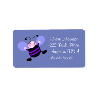 Cute Busy Bee Address Label