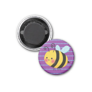 Cute Busy Bumble Bee Magnet