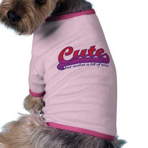 Cute but doggie tee
