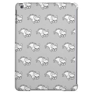Cute but lazy French Bulldog design iPad Air Cover